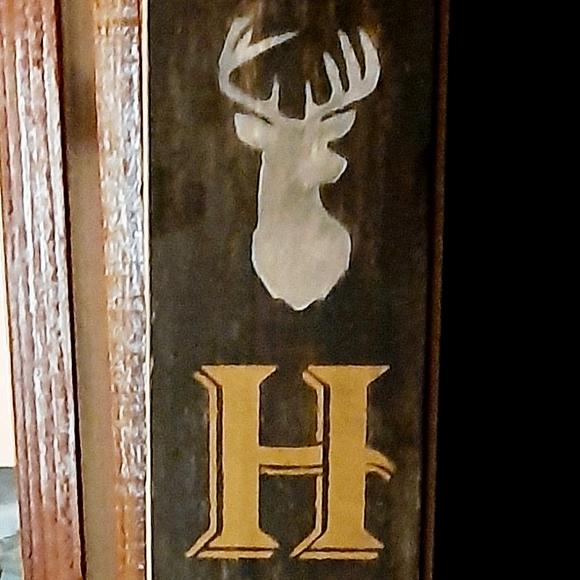 Deer Harvest sign